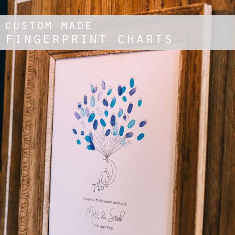 Custom Made Finger Print Charts