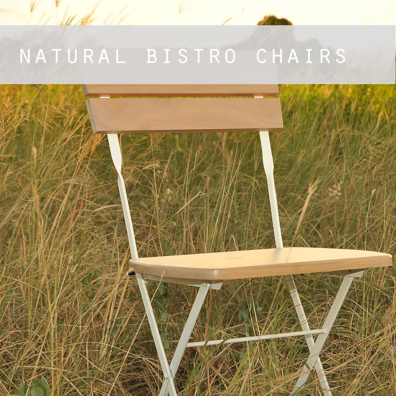 Natural Bistro Chairs